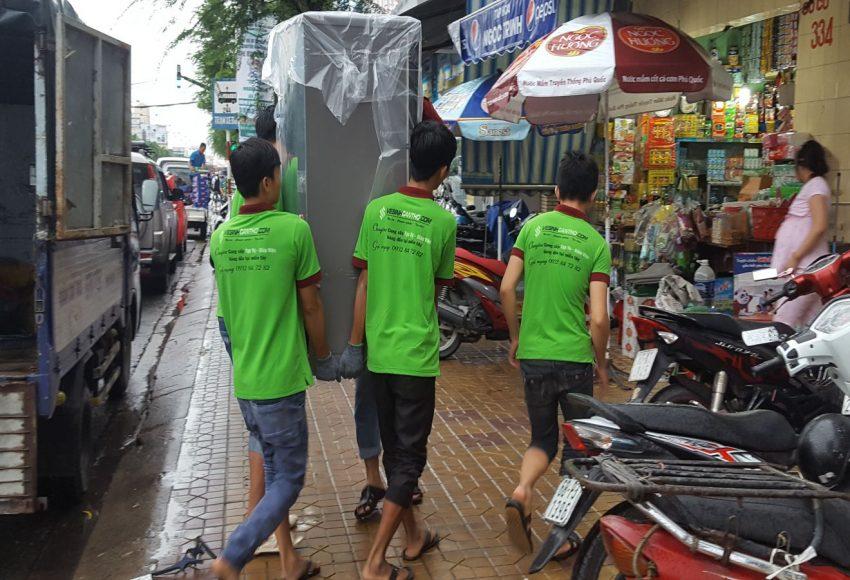 Dịch vụ chuyển nhà trọn gói của công ty Gia Nguyễn