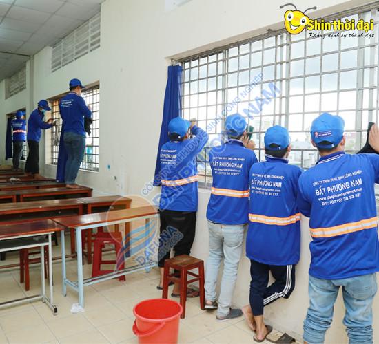 Dịch vụ vệ sinh công nghiệp Đất Phương Nam