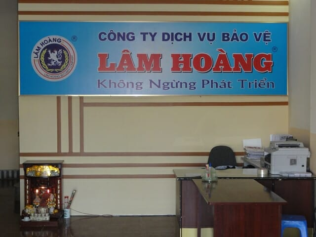 Công ty dịch vụ bảo vệ Lâm Hoàng