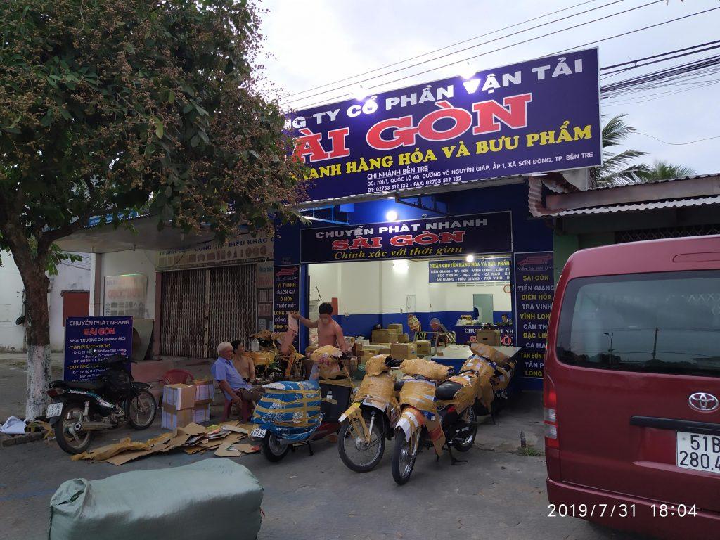 Chi nhánh Bến Tre   Vận Tải Sài Gòn